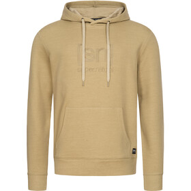 super.natural Signature Hoodie Men, olive grey/olive grey